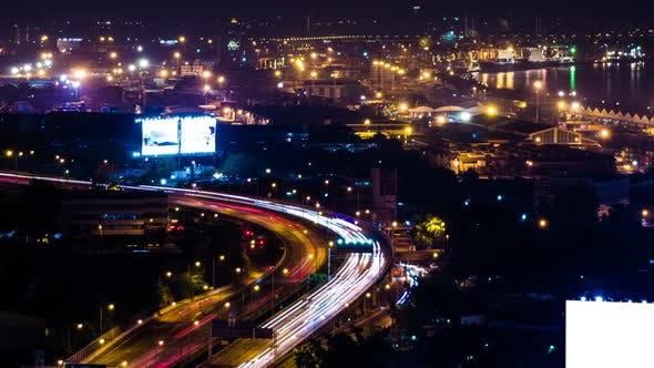 Traffic City Lights