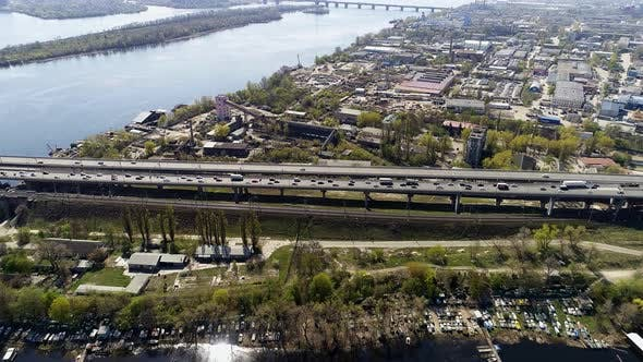 Thumbnail for City Traffic on the Bridge