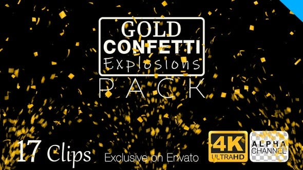 Thumbnail for Gold Confetti Pack