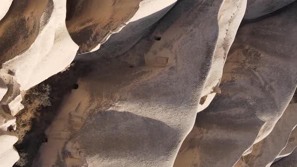 Thumbnail for Vertical Video Cappadocia Landscape Aerial View