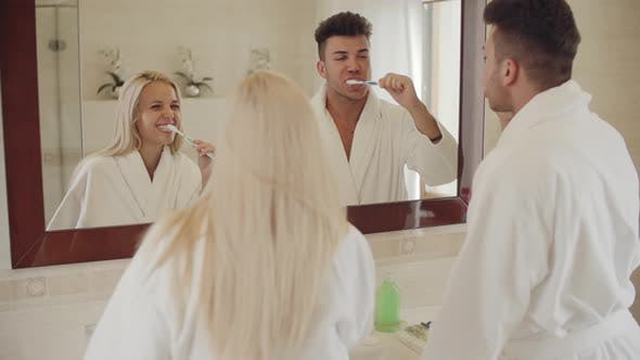 Thumbnail for Brushing Teeth in the Morning