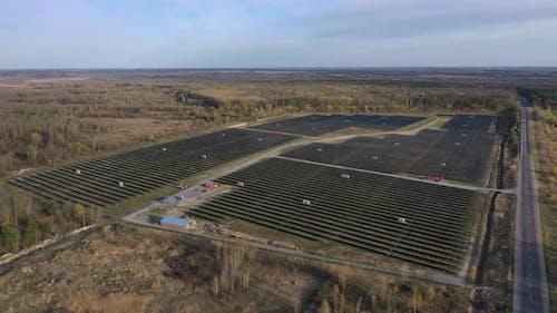 Solarkraftwerk Sonnenkollektoren