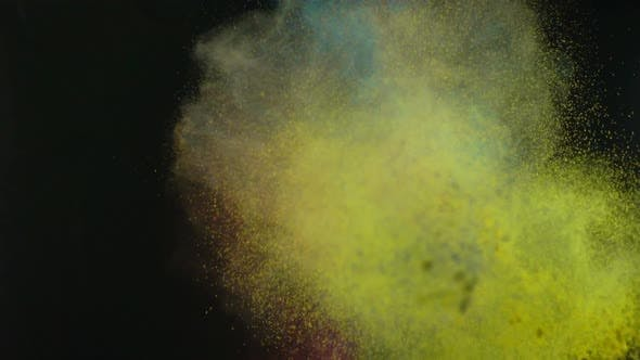 Thumbnail for Heap Of Colored Paints Exploding