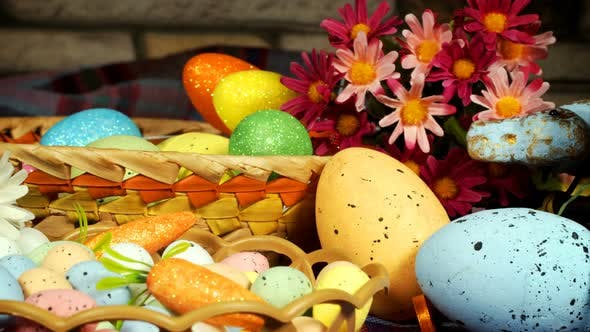 Thumbnail for Colorful Traditional Celebration Easter Paschal Eggs 15