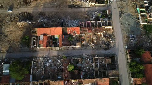 Destroyed Houses