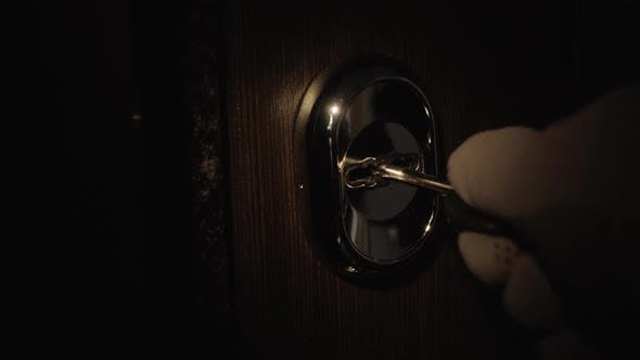 Thumbnail for Male Hand in a Glove Breaks the Lock