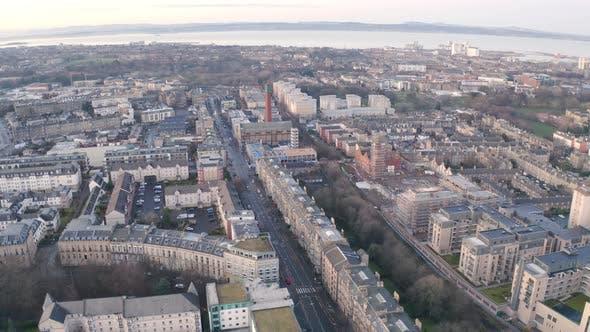 Thumbnail for City Aerial View of Edinburgh