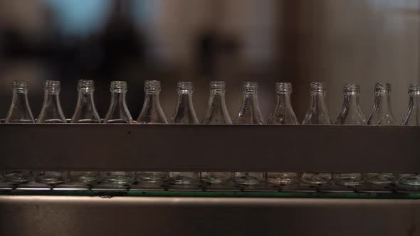 Bottles in a Factory