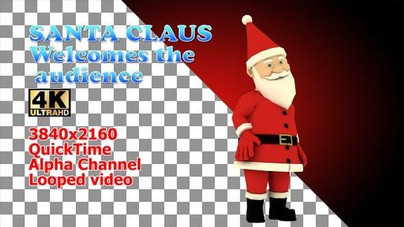 Santa Welcome Audience