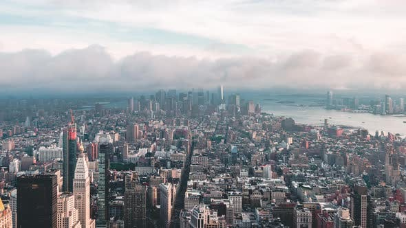 Thumbnail for New York City , USA, Timelapse  - Lower Manhattan | New York City