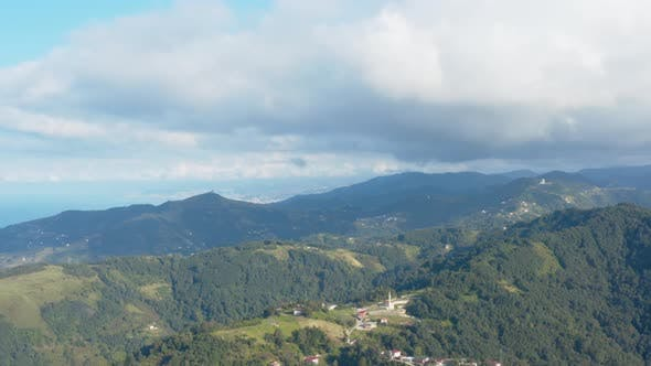 Thumbnail for Trabzon City Forest And Mountains Aerial View