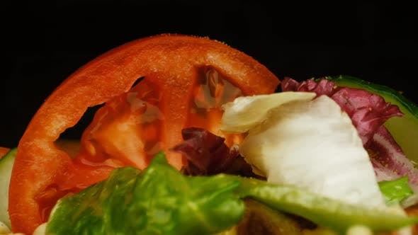 Thumbnail for Appetizing Sandwich. Close-up.