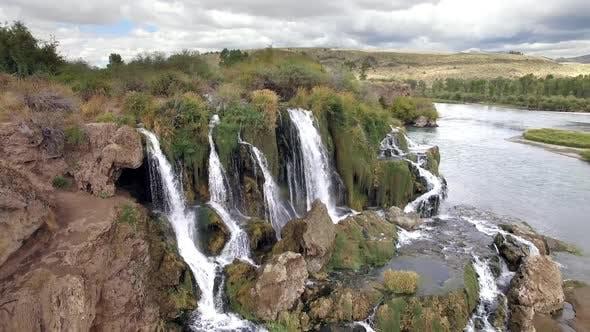 Fall Creek Falls aerial view