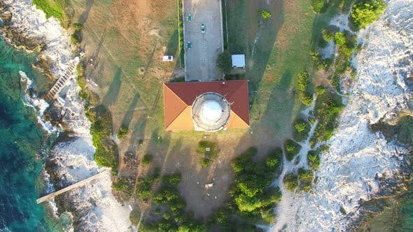 Thumbnail for Lighthouse, Croatia from above