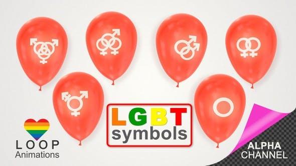 Thumbnail for LGBT Symbol Balloons