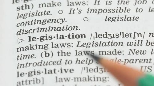 Legislation, English Vocabulary Page Opened, Laws Making and Obeying, Politics