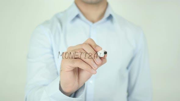 Monetization, Writing On Screen