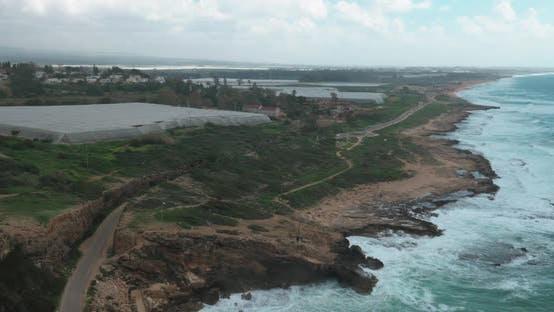 Thumbnail for Landscape of Rosh Hanikra Coastline