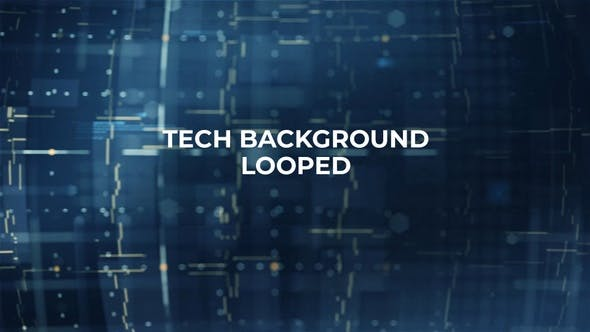 Technology Background Looped