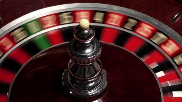Thumbnail for Classic Roulette White Ball, Close Up