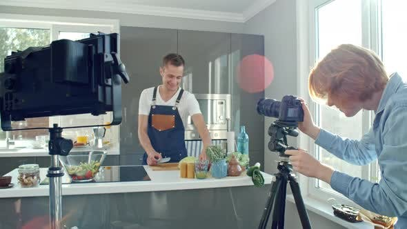 Thumbnail for Filming Cooking Show