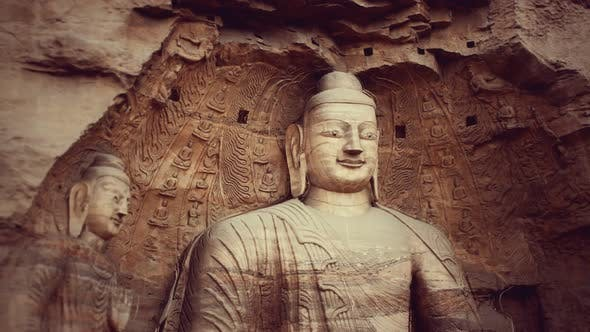 Thumbnail for Buddha Stone Carving of Yungang Grottoes