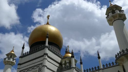 Time lapse from the Masjid Sultan Jawi