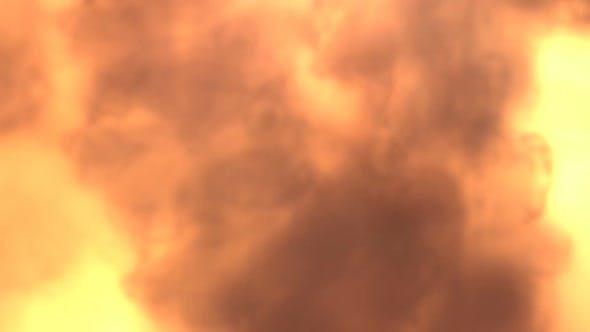 Fuel Burn And Smoke At Camera Transition