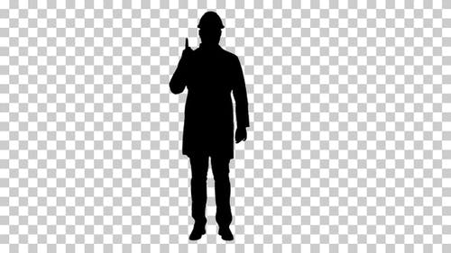 Silhouette Presenter, Alpha Channel