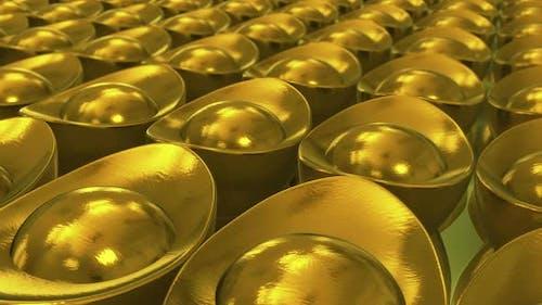 Chinese Gold Ingot 4k