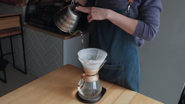 Making Coffee Process