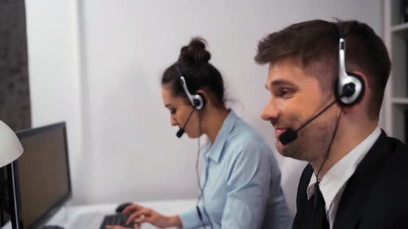 Thumbnail for Business Call Centre Office