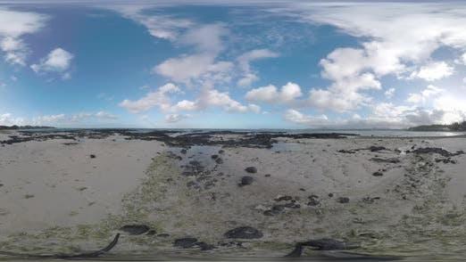 Thumbnail for 360 VR Ocean Coast von Mauritius Island
