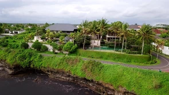 Thumbnail for Drone Shot of Scenic Coastline View