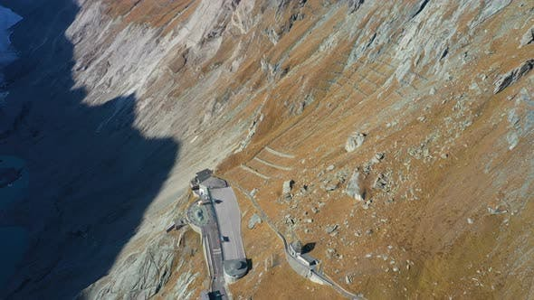 Thumbnail for Aerial View Of Pasterze Viewpoint