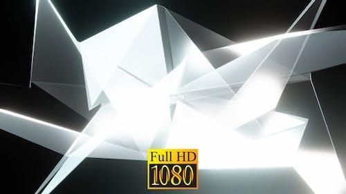 Abstract Diamond Vj Loop HD