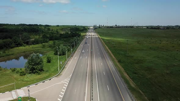 Thumbnail for Asphalt Autobahn Highway Road In Russia