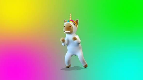 Unicorn Dance Gangnam Style