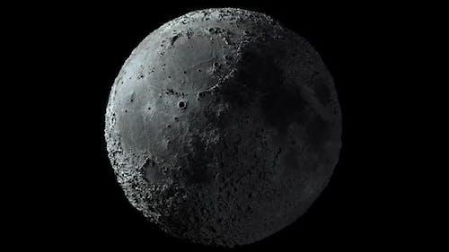 Extra Detalised Moons Surface Moon Globe Hd