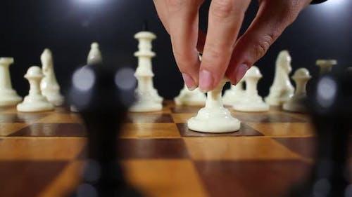 Queens Gambit On The Chessboard