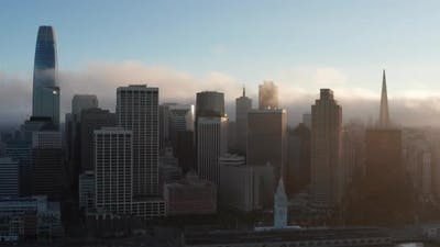 4K Clouds over San Francisco