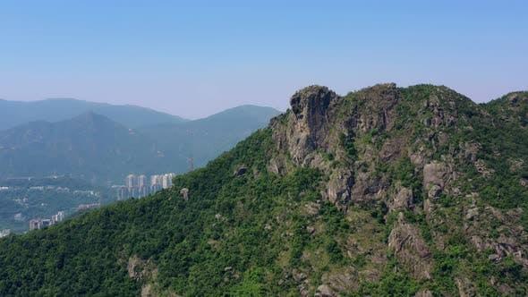 Thumbnail for Lion Rock mountain in Hong Kong