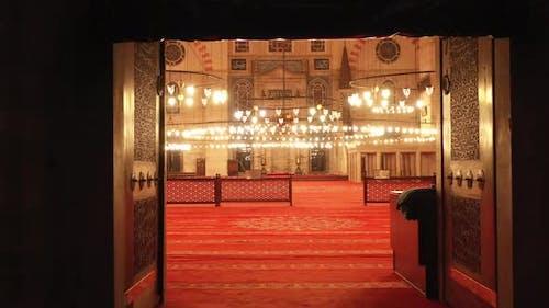 Süleymaniye Moschee Innen Und Luftaufnahme