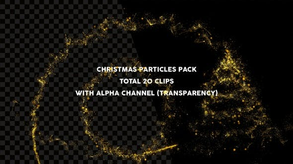 Thumbnail for Christmas Particles Pack