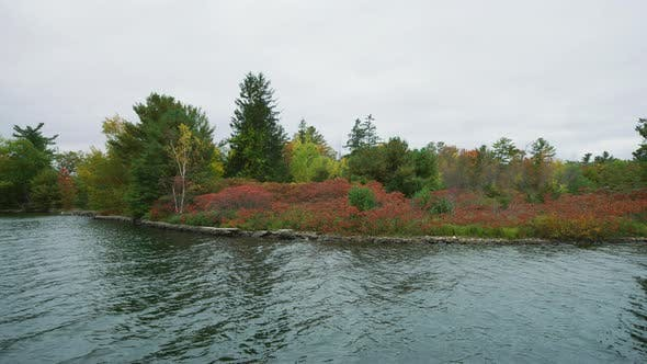 Thumbnail for Fall colors at the Thirty Thousand Islands