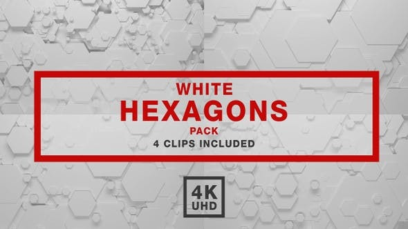 Thumbnail for Hexagon Backgrounds Pack