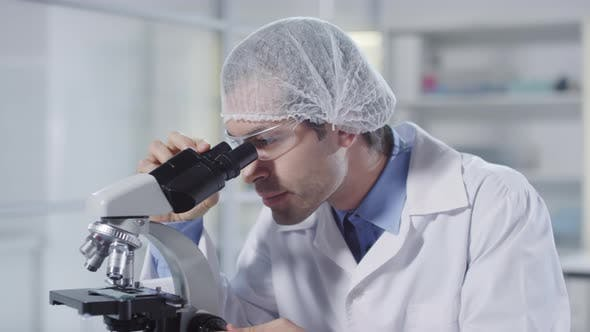 Thumbnail for Microbiologists Working in Lab