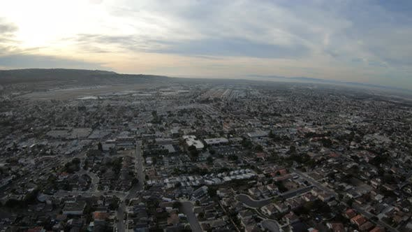 Thumbnail for Southeast Torrance Los Angeles California Aerial Overview