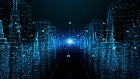 Digital City Digital Data Network 844