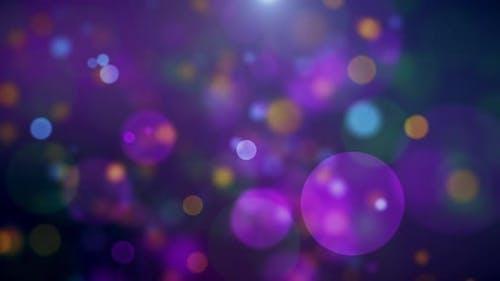 Soft Bokeh Colorful Particles